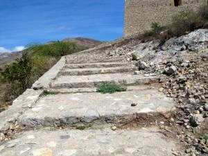 Top of stairway