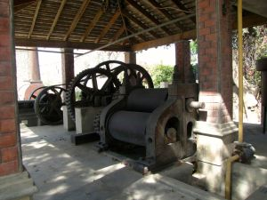 Steam-powered mill