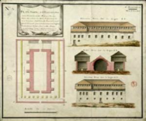 Plan of La Poudrière du Môle