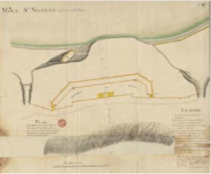 Plan of La Batterie de Vallière