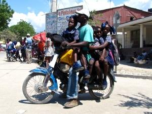 Haitian school bus?