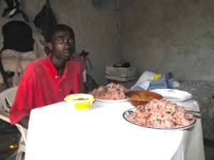 Haitian portions