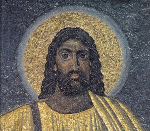 Black Jesus in church in Rome, AD 350